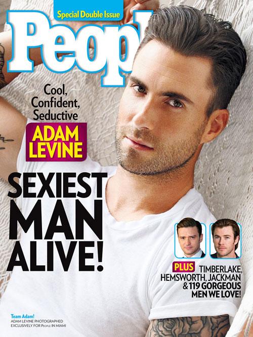 Adam Levine: El hombre más sexy según People