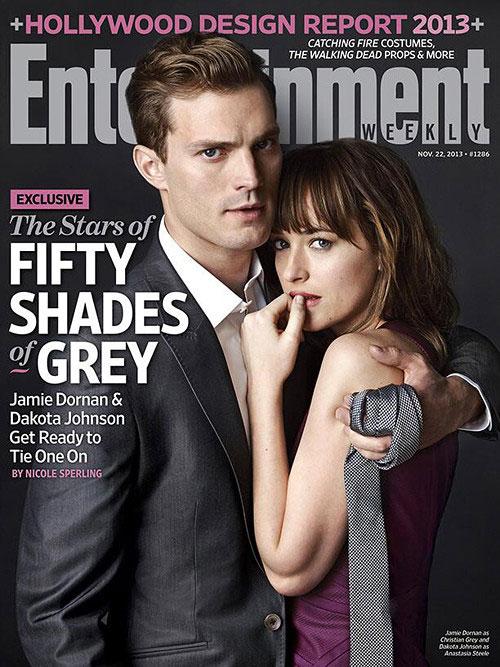 Las estrellas de Fifty Shades of Grey - EW