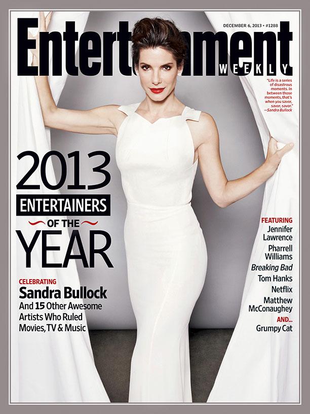 Sandra Bullock es la artista del año - EW