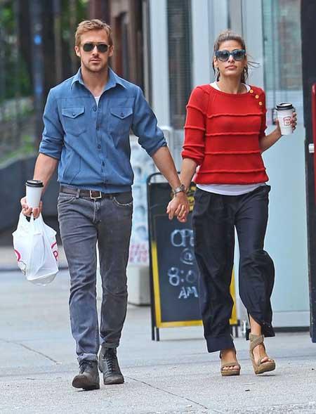 Ryan Gosling y Eva Mendes se toman un break?