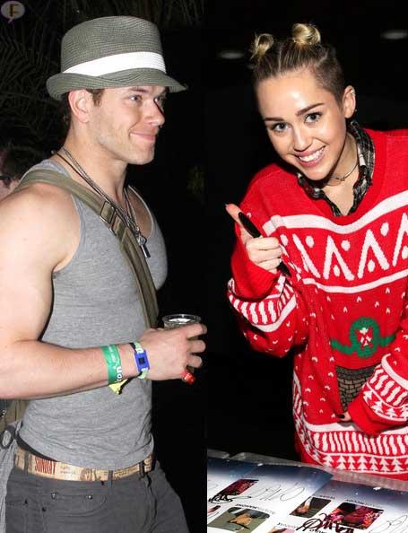 Miley Cyrus y Kellan Lutz vuelan juntos a Miami - Couple Alert?