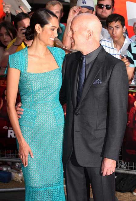 Bruce Willis será padre por quinta vez!!