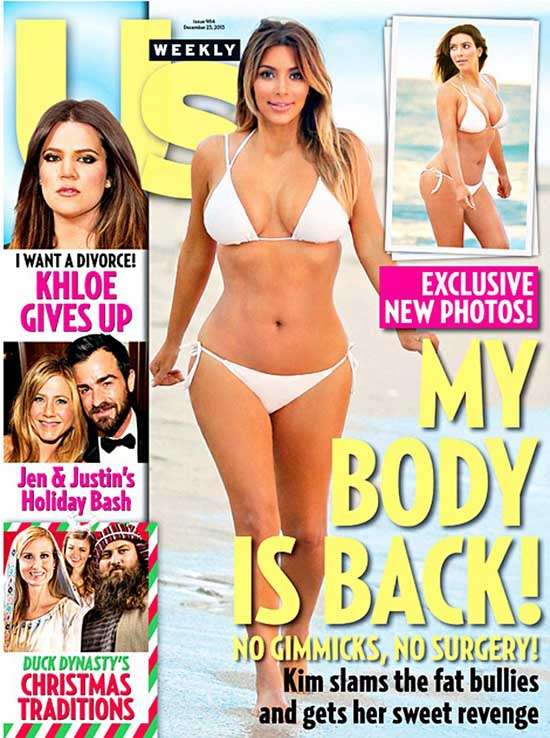 Kim Kardashian perdió 25 kilos!! WTF?