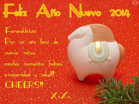 Feliz Año 2014... Yaaayy!!