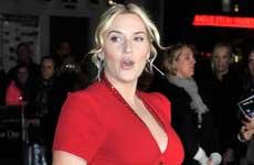 Kate Winslet llamó a su hijo… Bear!