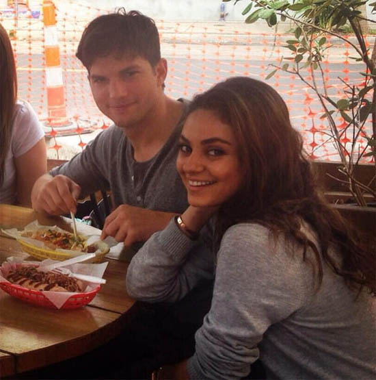 Again! Ashton Kutcher y Mila Kunis comprometidos en secreto?