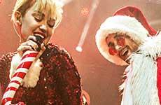 Miley Cyrus twerking con Santa ebrio… wtf?