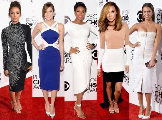 Mejor y Peor Vestidas de los People's Choice Awards 2014