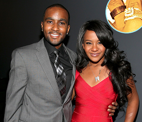 La hija de Whitney Houston, Bobbi Kristina se casó con Nick Gordon!!