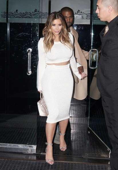 Kanye West golpea a un joven racista que insultó a Kim Kardashian