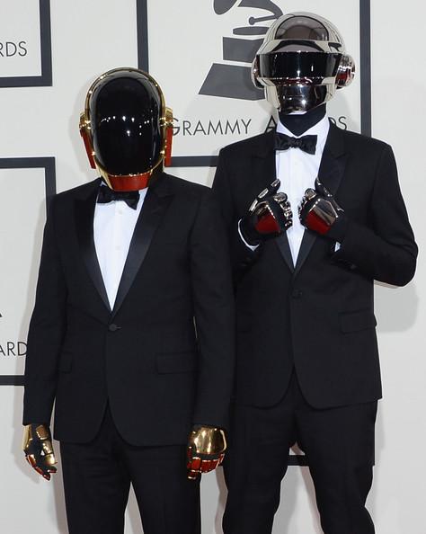 Ganadores de los Grammy Awards 2014 - Daft Punk!