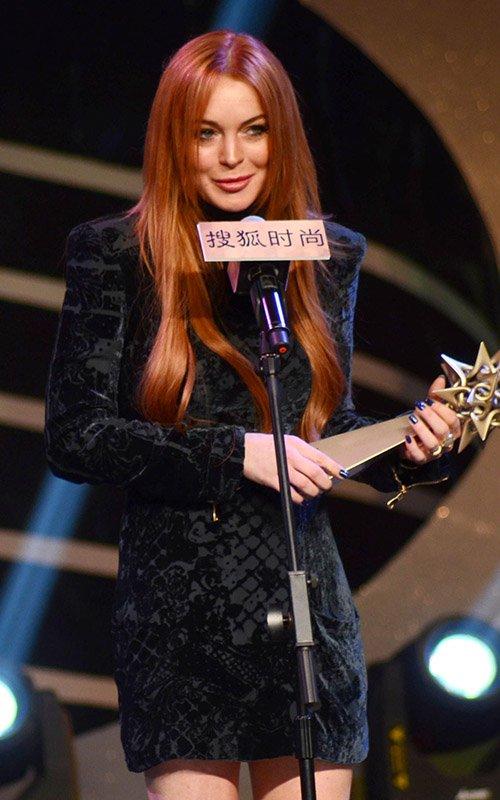A Lindsay Lohan le roban su laptop en China