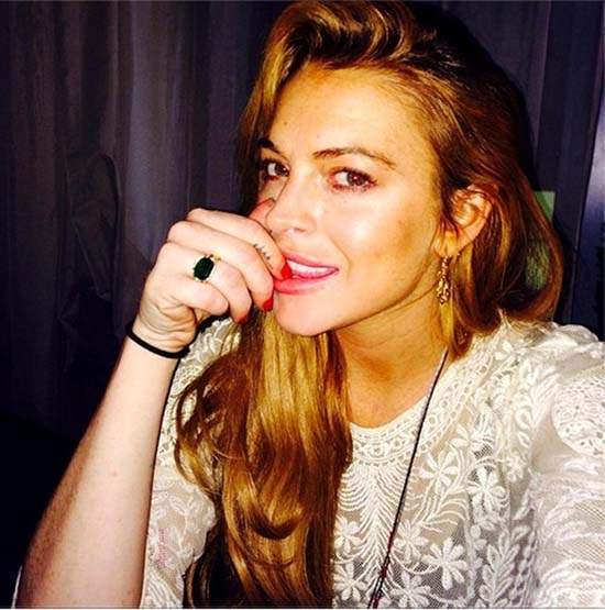 Guess What? Lindsay tiene fotos privadas en su laptop