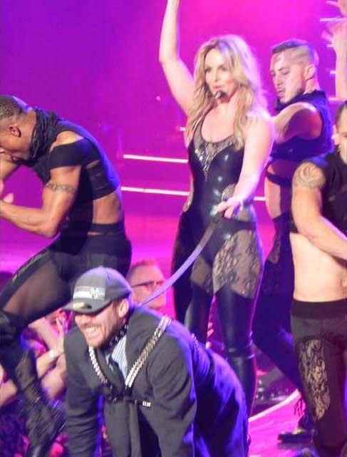 Britney Spears en Las Vegas es un desastre?