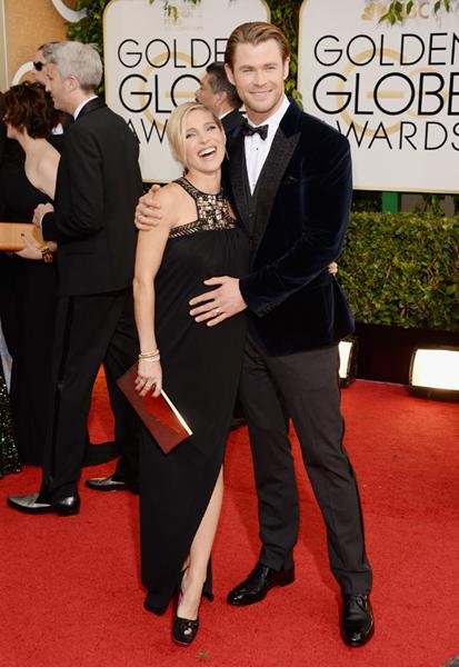 Chris Hemsworth y Elsa Pataky esperan gemelos!! TWINS!!