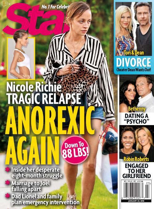 Nicole Richie Anoréxica AGAIN!? [Star]