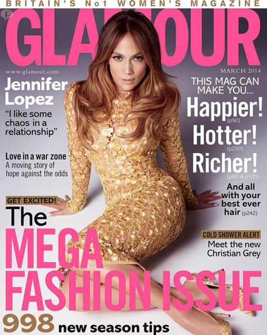 Jennifer Lopez ama el caos en las relaciones - [Glamour]