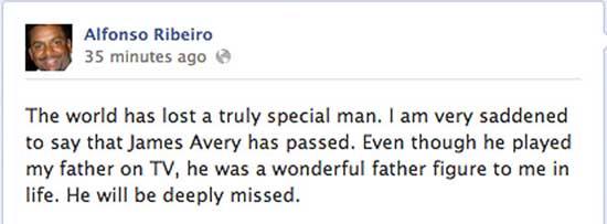 Murió James Avery, el Tio Phil del Principe del Rap