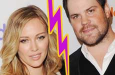 Hilary Duff y Mike Comrie se separan? WHAT?