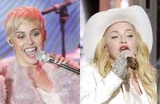Miley Cyrus y Madonna cantarán juntas!!