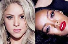 Shakira y Rihanna en la portada de 'Can't Remember To Forget You'