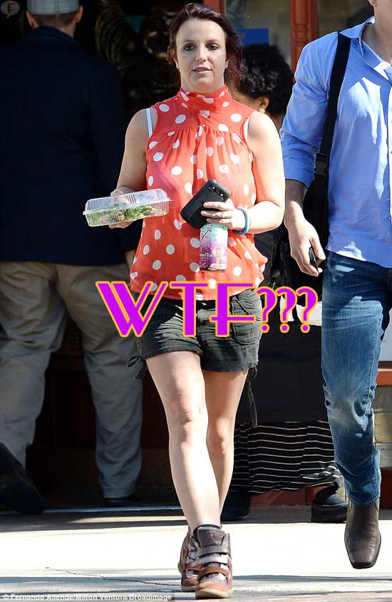 Britney Spears ahora es pelirroja - HOT?