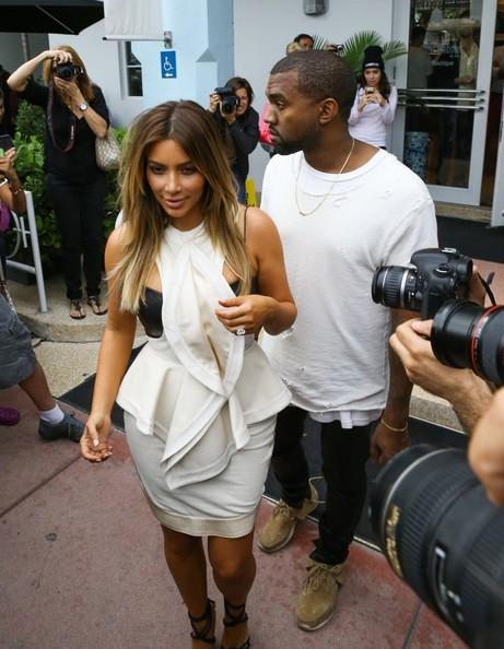 Kim Kardashian & Kanye West adelantan la fecha de su boda??