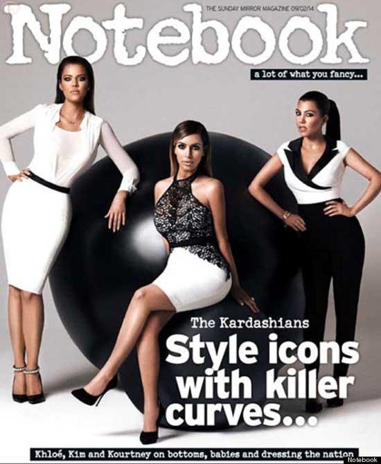 Las Curvas Matadoras de las Kardashians - PHOTOSHOPED!!!!