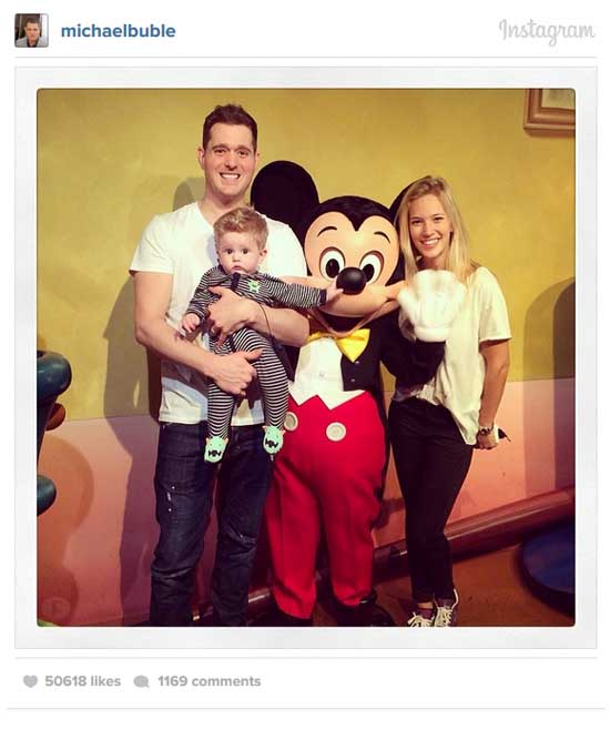 El baby de Michael Buble y Luisana Lopilato CUTE!!!!