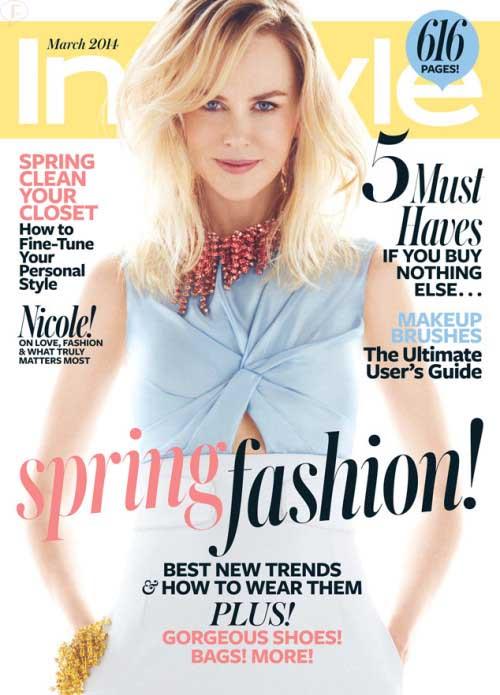 Nicole Kidman en InStyle