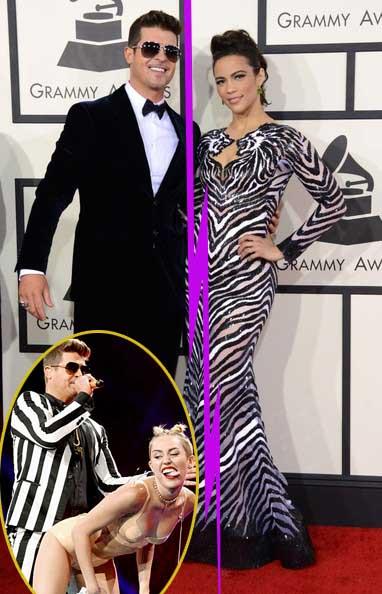 Robin Thicke y Paula Patton se separan - Miley ayudó?