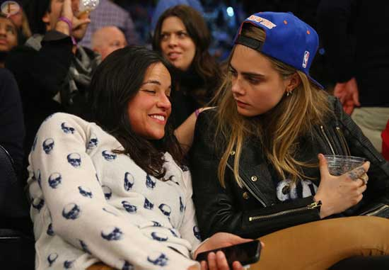 Michelle Rodriguez quiere bebés con Cara Delevingne - WHAT?