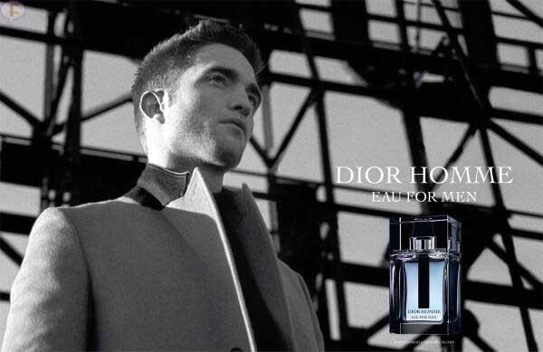 Robert Pattinson para Dior Homme Eau For Men