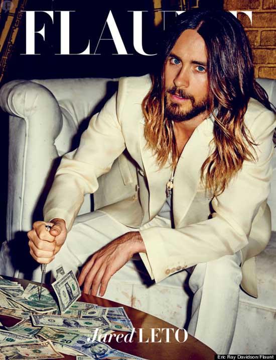 Jared Leto en Flaunt magazine