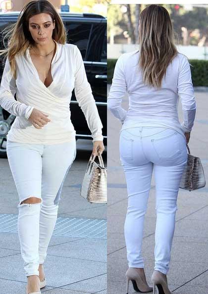 Kim Kardashian Niega Que Su Trasero Sea Fake Again