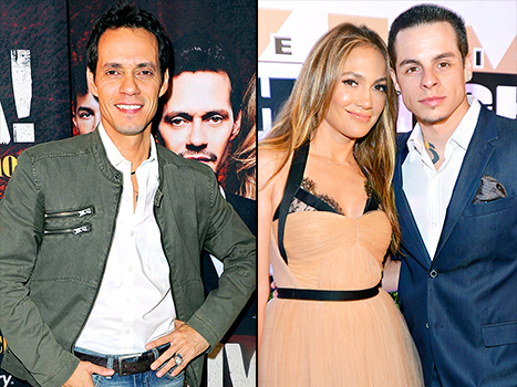 Marc Anthony y Casper Smart (novio de JLo) son amigos!