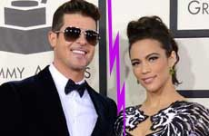 Robin Thicke y Paula Patton se separan – Miley ayudó?