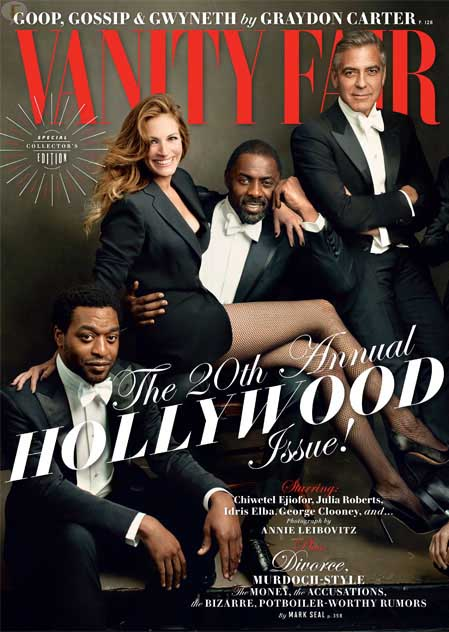Vanity Fair Hollywood 2014: Julia, George, Lupita, Jared