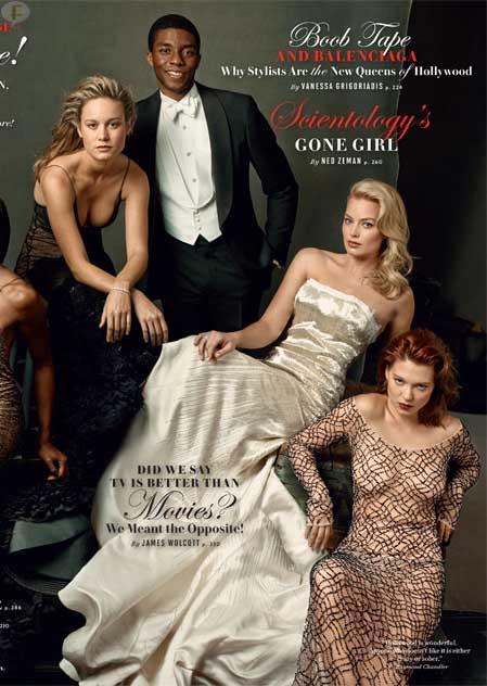 Vanity Fair Hollywood 2014: Julia, George, Lupita, Jared