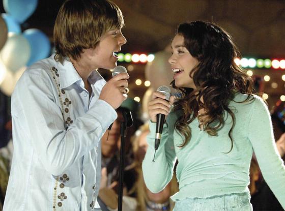 Zac Efron: reunión de High School Musical
