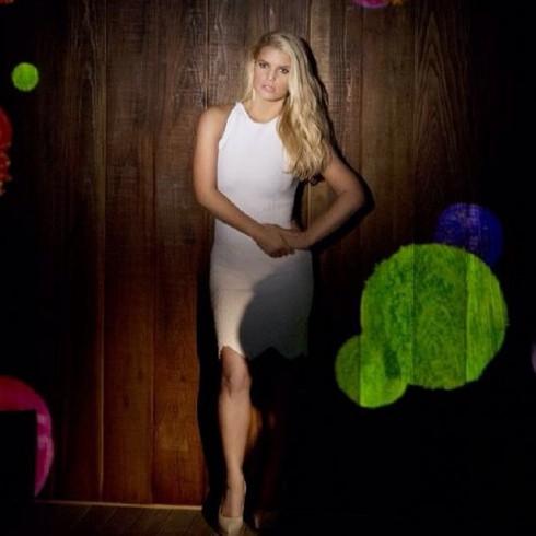 Jessica Simpson delgada para Weight Watchers