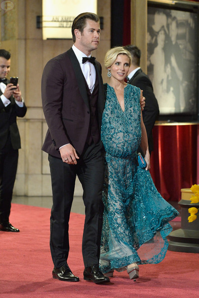 Elsa Pataky & Chris Hemsworth tuvieron gemelos!!! TWINS!!