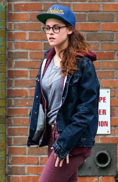 Kristen Stewart: con unos kilitos extra - no embarazada