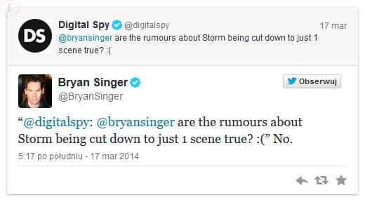 Storm cortada en X Men: Days of Future Past?