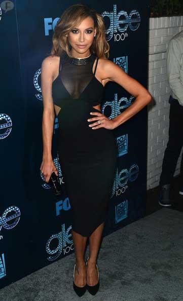 Glee Naya Rivera se operó los senos? Boob job!?