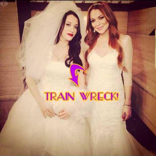 Lindsay Lohan en 2 Broke Girls: DESASTRE!!!