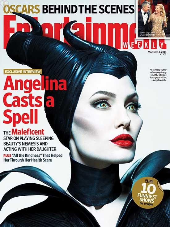 Angelina Jolie Malefica en Entertainment Weekly