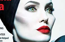 Angelina Jolie Malefica en Entertainment Weekly