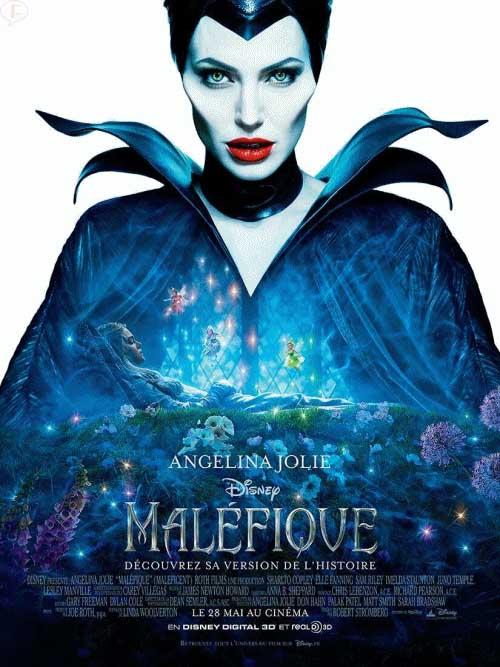 Angelina Jolie como Maleficent - Posters