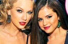 Taylor Swift corta amistad con Selena Gomez por Justin